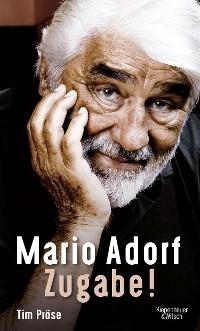 Cover Mario Adorf. Zugabe!