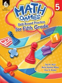 Cover Math Games: Skill-Based Practice for Fifth Grade