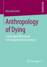 Cover Anthropology of Dying