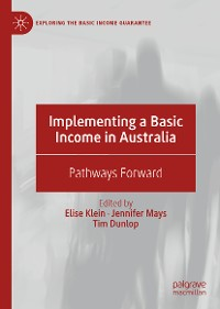 Cover Implementing a Basic Income in Australia
