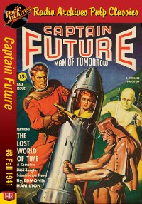 Cover Captain Future #8 The Lost World of Time