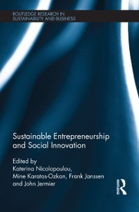 Cover Sustainable Entrepreneurship and Social Innovation