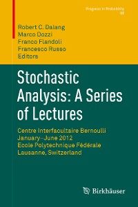 Cover Stochastic Analysis: A Series of Lectures