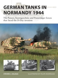Cover German Tanks in Normandy 1944