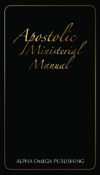 Cover Apostolic Ministerial Manual