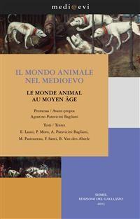 Cover Il mondo animale nel Medioevo / Le monde animal au Moyen Age