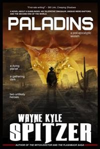 Cover Paladins: A Post-apocalyptic Western