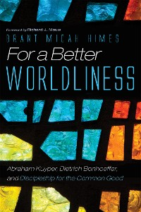 Cover For a Better Worldliness