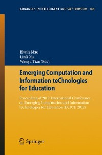 Cover Emerging Computation and Information teChnologies for Education
