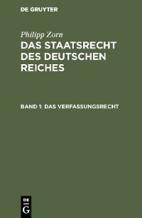 Cover Das Verfassungsrecht
