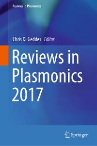 Cover Reviews in Plasmonics 2017