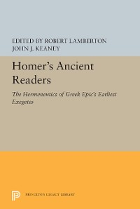 Cover Homer's Ancient Readers