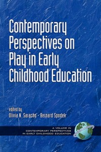 Cover Contemporary Perspectives on Play in Early Childhood Education