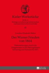 Cover Der Wiener Frieden von 1864