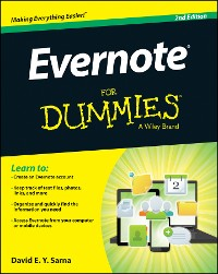 Cover Evernote For Dummies
