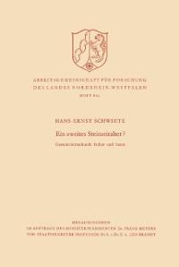 Cover Ein zweites Steinzeitalter?