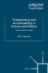 Cover Transparency and Accountability in Science and Politics