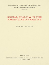 Cover Social Realism in the Argentine Narrative