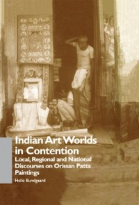 Cover Indian Art Worlds in Contention