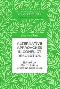 Cover Alternative Approaches in Conflict Resolution
