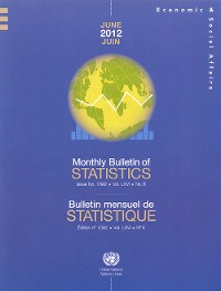 Cover Monthly Bulletin of Statistics, June 2012