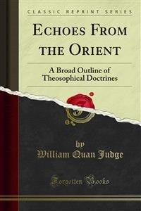 Cover Echoes From the Orient