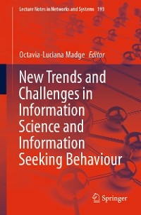 Cover New Trends and Challenges in Information Science and Information Seeking Behaviour