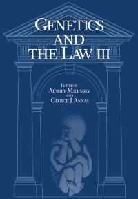 Cover Genetics and the Law III