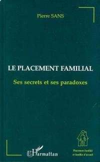 Cover LE PLACEMENT FAMILIAL