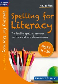 Cover Spelling for Literacy for ages 9-10