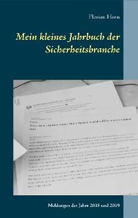 Cover Mein kleines Jahrbuch der Sicherheitsbranche