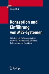 Cover Konzeption und Einführung von MES-Systemen