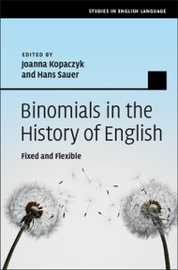 Cover Binomials in the History of English