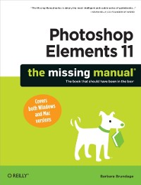 Cover Photoshop Elements 11: The Missing Manual