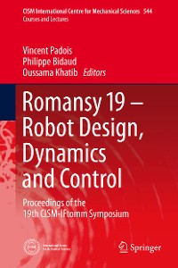Cover Romansy 19 - Robot Design, Dynamics and Control