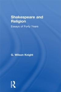 Cover Shakespeare & Religion   V 7
