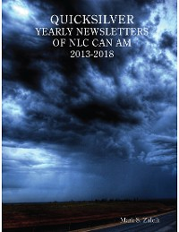Cover Quicksilver Yearly Newsletters of Nlc Can Am 2013-2018