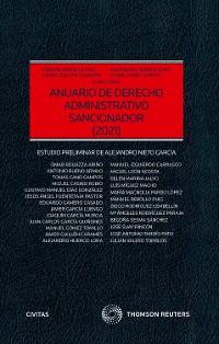 Cover Anuario de Derecho Administrativo sancionador 2021