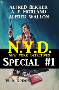 Cover N.Y.D. - Special #1: Vier Krimis (New York Detectives)