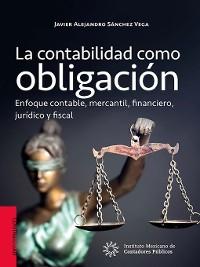 Cover La contabilidad como obligación.
