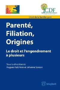 Cover Parenté, filiation, origine