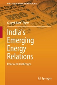 Cover India's Emerging Energy Relations