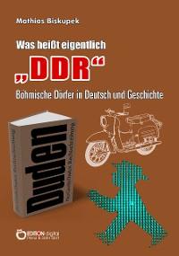 """Cover Was heißt eigentlich """"DDR""""?"""