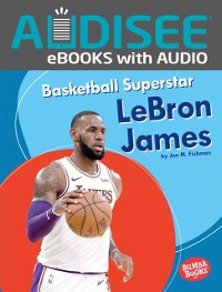Cover Basketball Superstar LeBron James