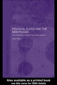 Cover Political Elites and the New Russia
