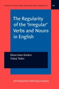 Cover Regularity of the 'Irregular' Verbs and Nouns in English