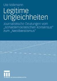 Cover Legitime Ungleichheiten