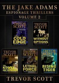 Cover Jake Adams Espionage Thrillers