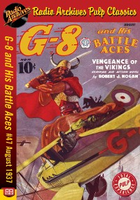 Cover G-8 and His Battle Aces #47 August 1937