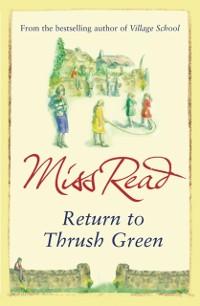 Cover Return to Thrush Green